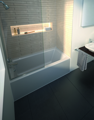 Architec Panel Bathtub by Duravit | Pro Remodeler
