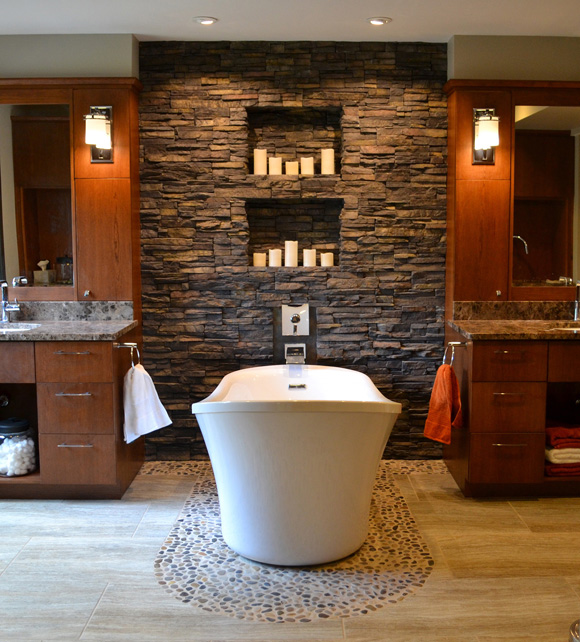 How To Use Stone To Break The Monotony Of Interior Wall Textures