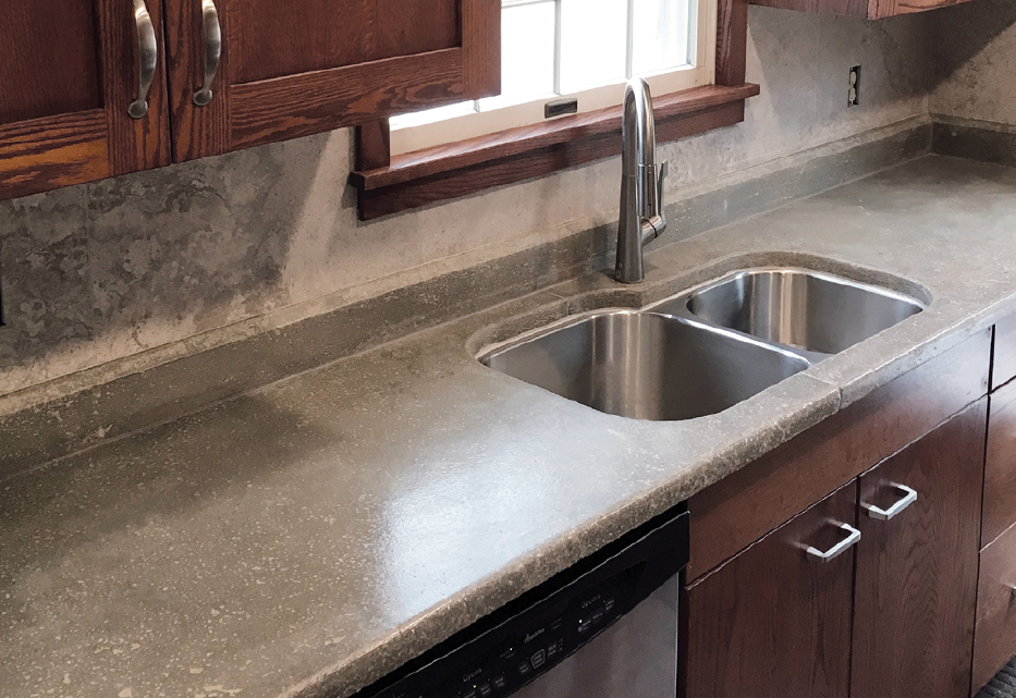 A Carpenter's First Time Building Concrete Countertops