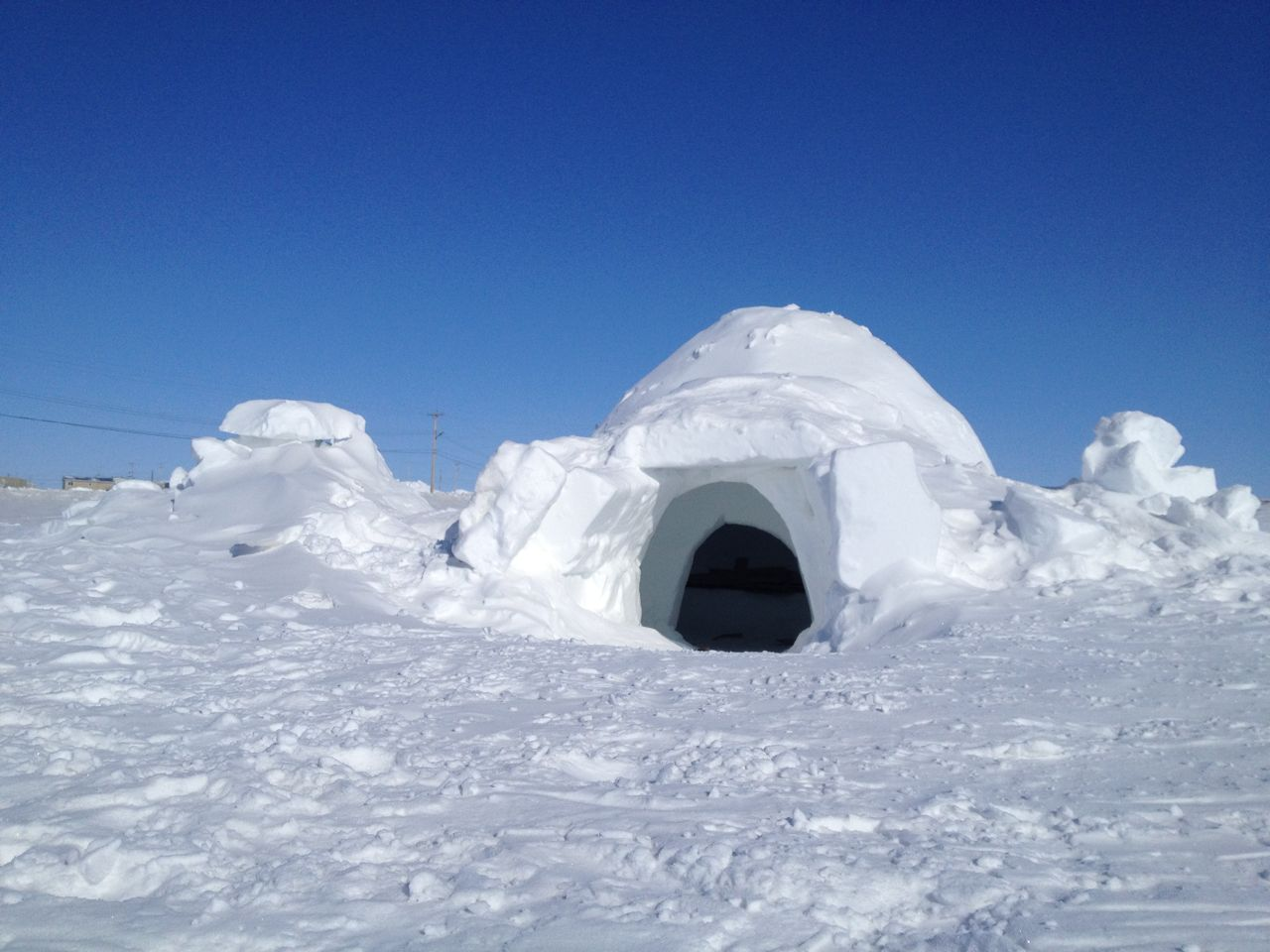 Construction: How To Build An Igloo (Just In Case)