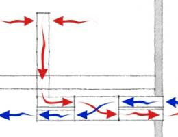 Illustration of whole-house ventilation air flows