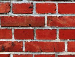 Brick to roof flashing