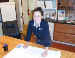 Sydney Contant, Project Manager at Atlanta Design & Build, in Marietta, Ga., 2016 Professional Remodeler 40 Under 40 awardee