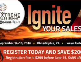 Extreme Sales Summit 2016 in Philadelphia