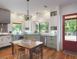 Kitchen remodel by Risinger Homes, Austin, Texas