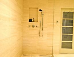 LUXE Linear Shower Drain-Tile Insert