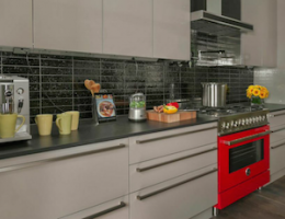 Hidden from view, Legrand's Adorne Under-Cabinet Lighting System boasts a modular track that fits under kitchen cabinets.