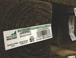 Update about revisions to AWPA's U1 standard for pressure-treated lumber