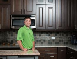 Adam Plank, Production Manager at Synergy Builders, in West Chicago, Ill., 2016 Professional Remodeler 40 Under 40 awardee