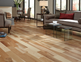 Remodeling Show 2014 Products: Bellawood Matte Hickory Solid Hardwood Flooring