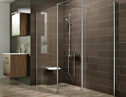 ARC Tuff Form and TriForm Curbless Shower