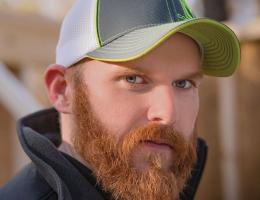 Justin Walker, Safety Coordinator at Custom Quality Carpentry, in Durham, N.C., 2016 Professional Remodeler 40 Under 40 awardee