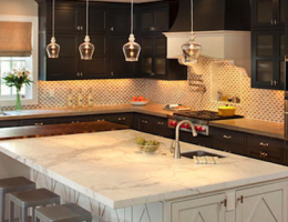 Architect Doug Walter shows how to light a kitchen correctly