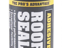 Titebond Roof Plus Sealant is appropriate for use on a variety of roof types.