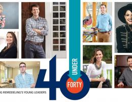 forty under 40 professional remodeler