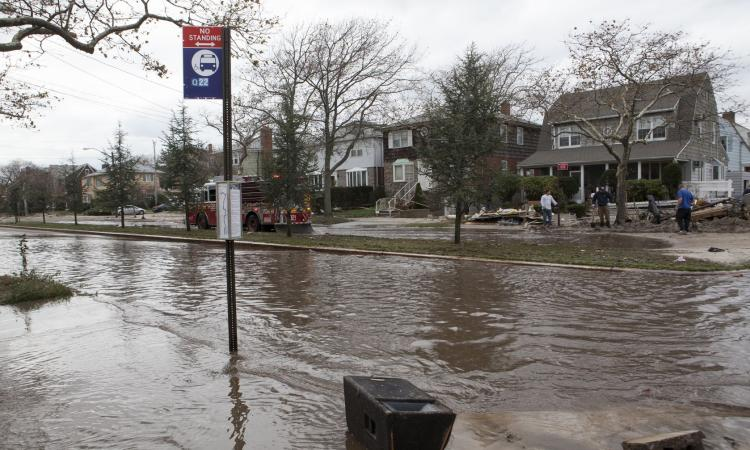 Roads were closed for two months following Sandy. When homeowners finally return