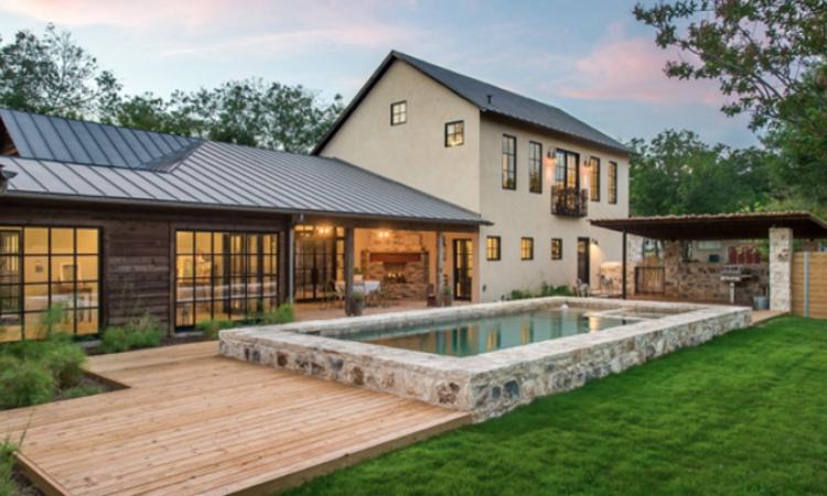 Award-winning remodel, Laughlin Homes & Restoration, Fredericksburg, Texas