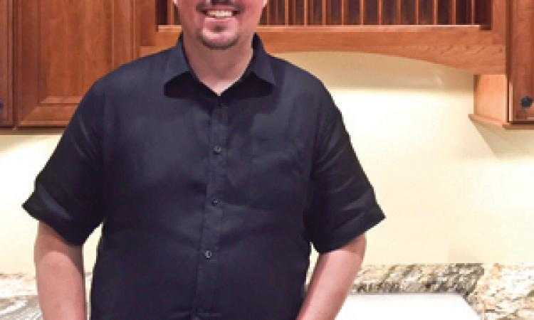 Derek Baxter, Designer and sales for Select Kitchen & Bath, in Springfield, Va., 2015 Professional Remodeler 40 Under 40 awardee