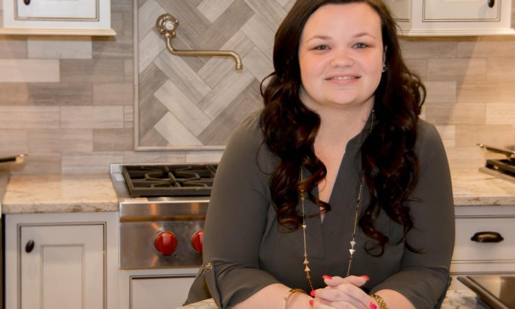 Samantha Bowen, Interior Designer at Bowen Remodeling & Design, in Crofton, Md., 2016 Professional Remodeler 40 Under 40 awardee