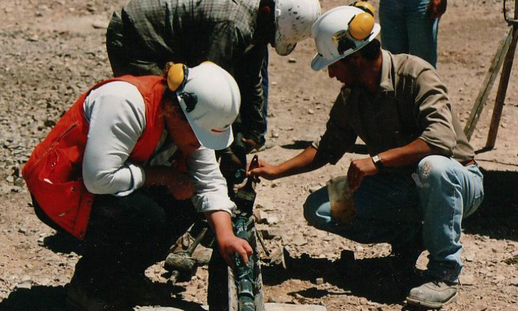 Geologists identify geological features that predict oil or mineral deposits are present, improving the chances by showing where to drill. The same concept applies to marketing and selling