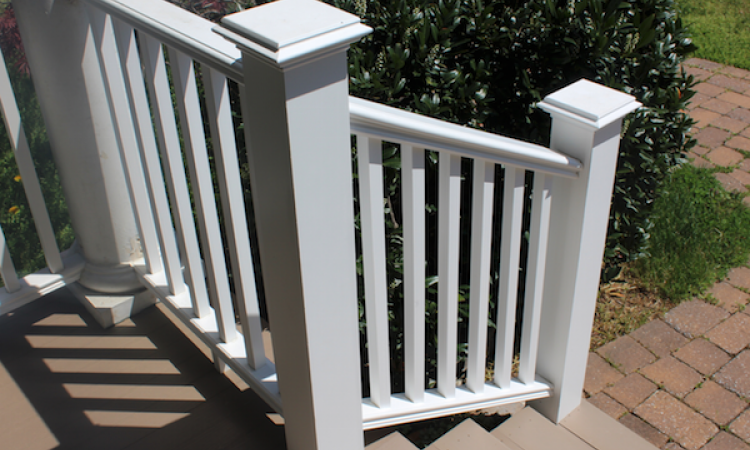 Intex Hampton extruded PVC railing system