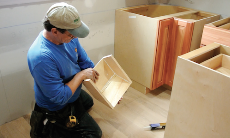 ProTradeCraft.com shows you step by step how to build a kitchen toekick detail
