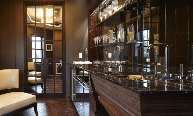 The new Mick De Giulio kitchen at the Kohler Design Center.