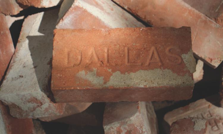 Using reclaimed brick in the 2015 ModelReModel