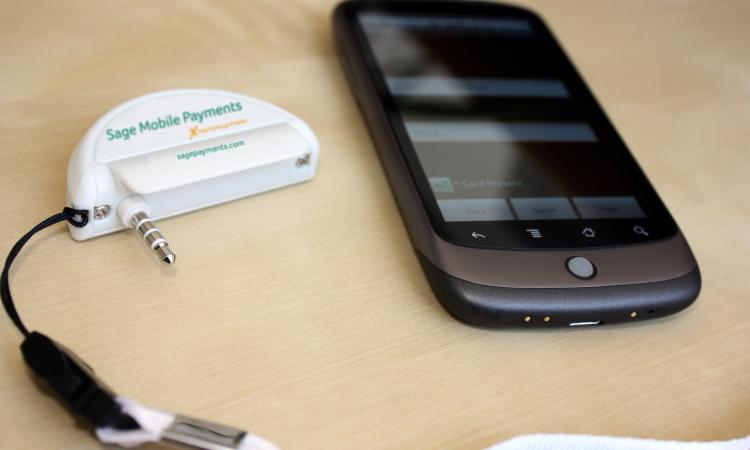 Leveraging cell phones as part-time credit card terminals can be both cost-effec
