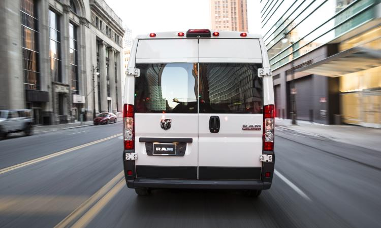 The newer vans eliminate the curved sides found in traditional vans that minimiz