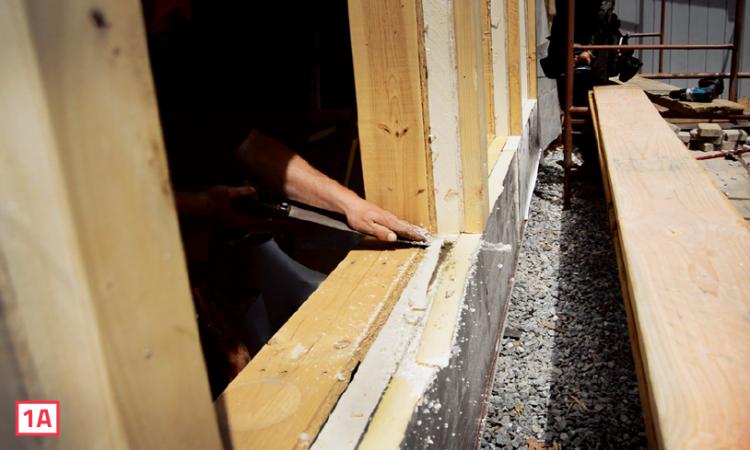 pro trade craft fat-wall window flashing