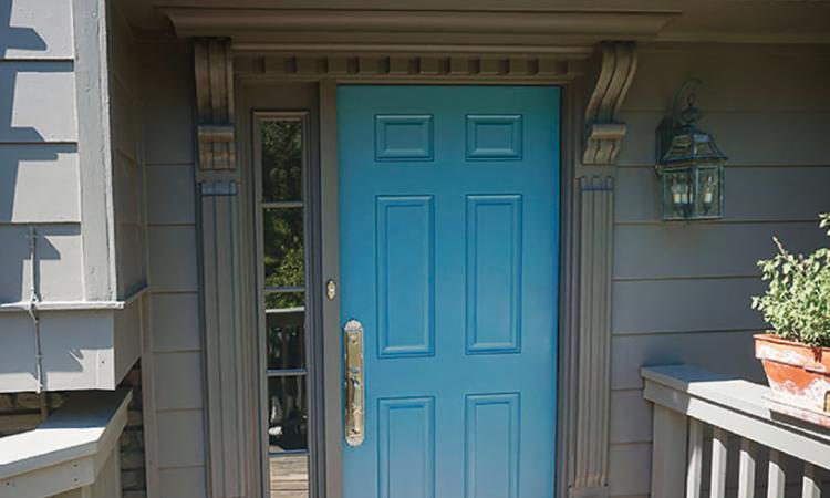 Entry Door Design Finds New Use For Old Corbels Pro Remodeler