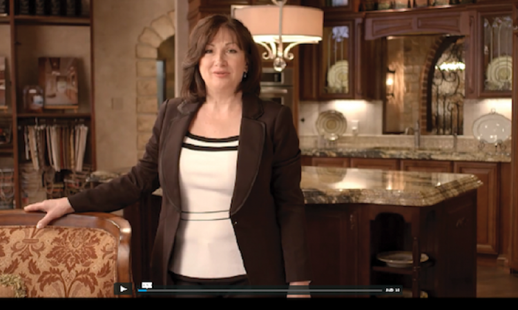 Melinda Dzinic of Euro Design Build Remodel in Texas uses video to engage website visitors