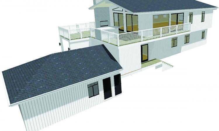 design for pro remodeler's model remodel home