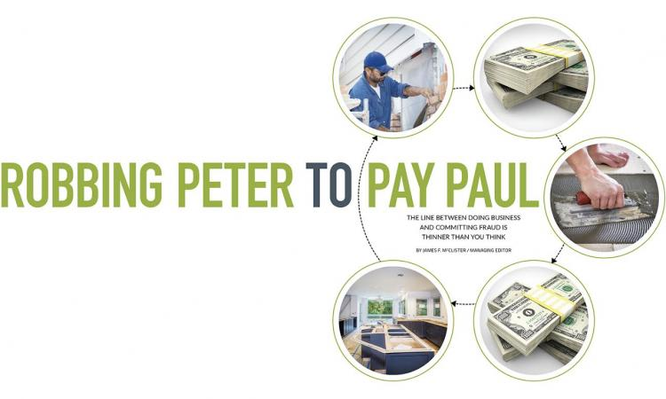 remodeling business and fraud-cash-remodeling work-money