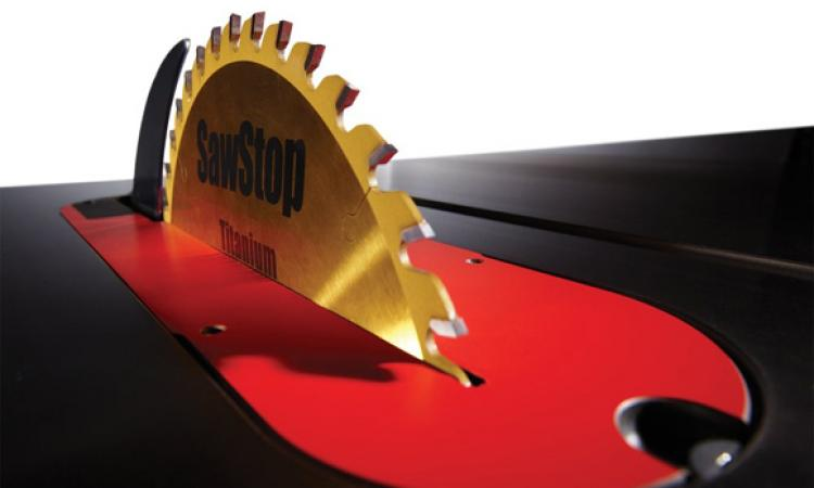 SawStop saw blade, Photo: courtesy SawStop