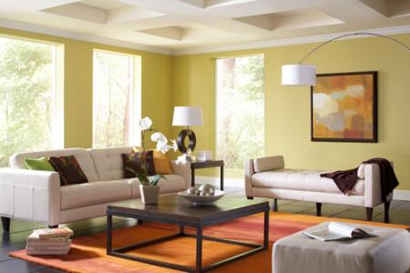 2014 National Home Design and Color Survey: Homeowners Plan To Add Color to Spaces