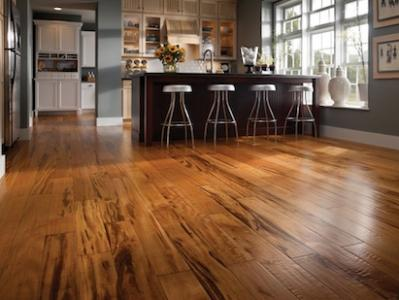 BR 111u0027s New Zinfandel Tigerwood Flooring Takes Traditional Tigerwood  Engineered Wood Flooring And, Using A Light Scraping Technique, Adds A  Luxurious ...