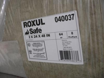 Roxul Scheduled to Begin Production in U.S.