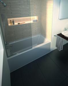 Architec Panel Bathtub by Duravit