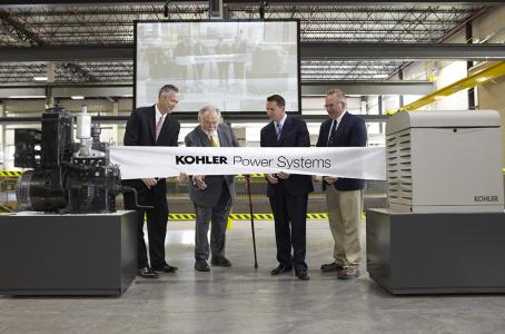 Kohler Power Systems Celebrates Expansion Completion