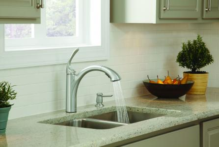 Moen's Kinzel kitchen faucet