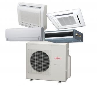 Fujitsu Multi-Zone Heat Pump Line