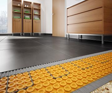 Schluter Ditra Heat Floor Warming System Pro Remodeler