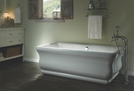 MTI Added Two Freestanding Bathtubs To Its Designer Series. The Olivia 2 Is  Constructed Using The Brandu0027s Sculpted Finish Process And The Result Is A  ...