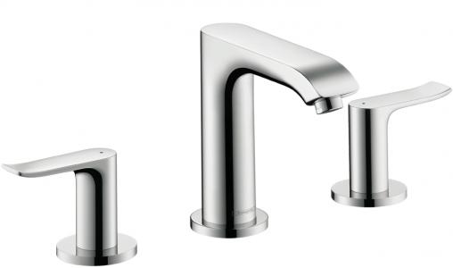 Hansgrohe's Metris Widespread faucet