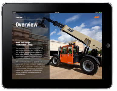 Three New Electronic Books From JLG Feature Scissor Lifts, Engine-Powered Boom Lifts, Electric-Hybrid Boom Lifts