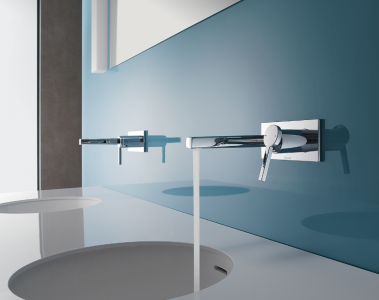 KWC AVA And ONO Wall Mounted Bath Faucets