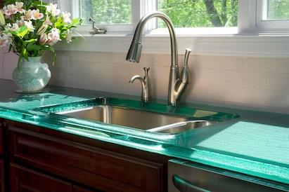 ThinkGlass countertop, countertop materials, 101 Best New Products