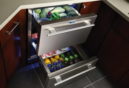 True Professional Undercounter Refrigerator Drawers